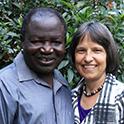 Ibrahim and Diane Omondi
